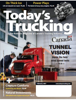 Today's Trucking Magazine